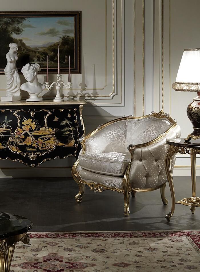 nội thất luxury cổ điển