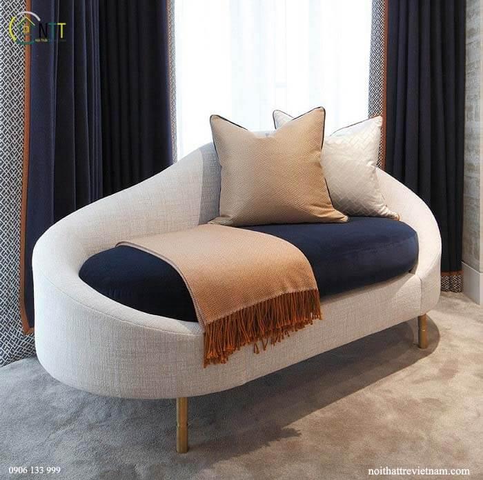 Mẫu 7 - Mẫu sofa nỉ đẹp hiện đại