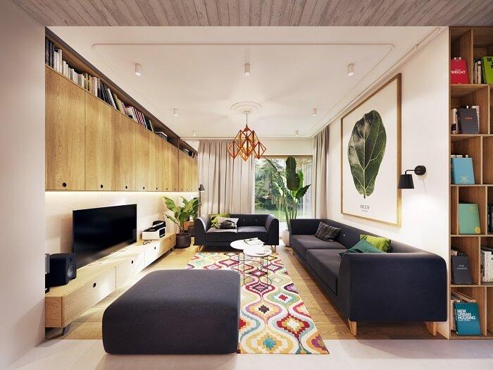Mẫu thiết kế nội thất nhà 2 tầng