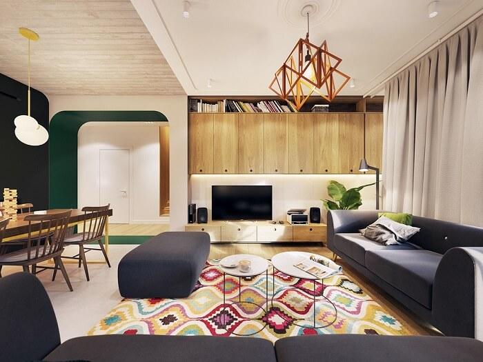 Thiết kế nội thất nhà 2 tầng hiện đại