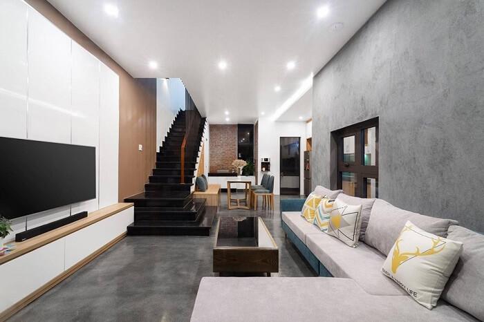 Thiết kế nội thất nhà ống 2 tầng