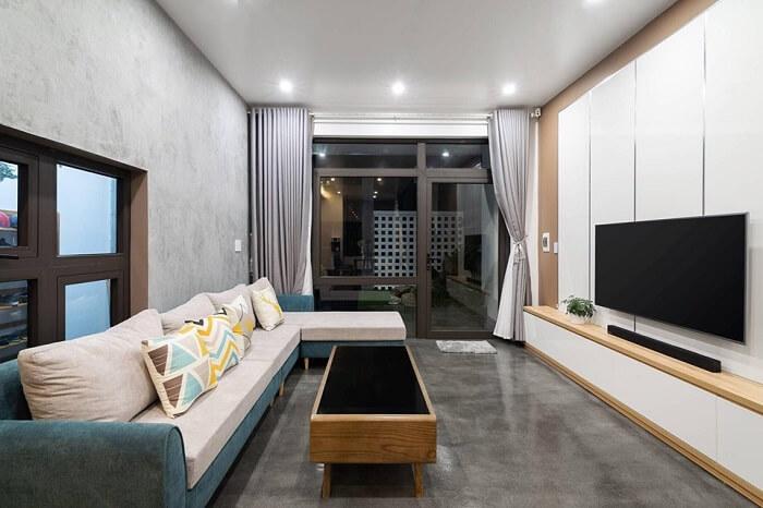 Thiết kế nội thất nhà ống 2 tầng đẹp