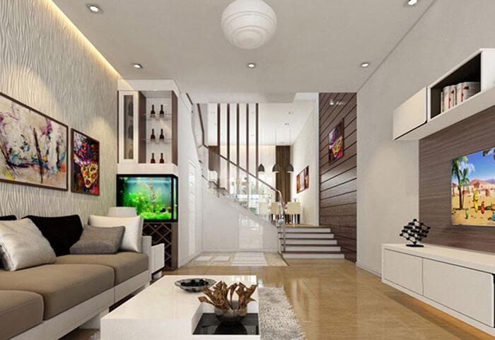 Thiết kế nội thất cho nhà 2 tầng