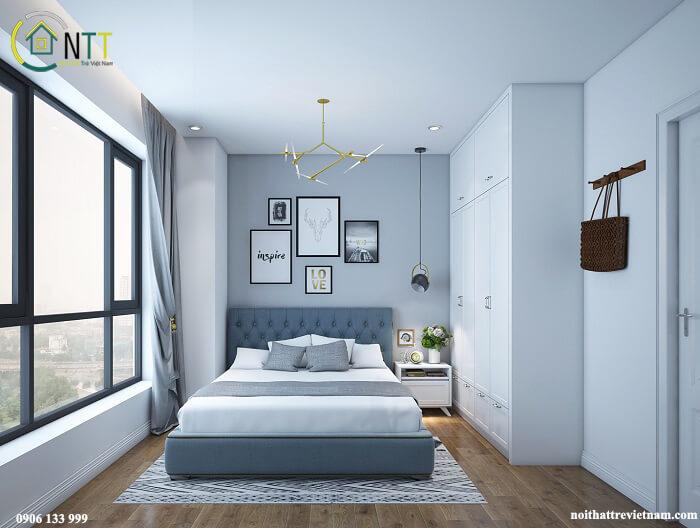 thiết kế phòng ngủ nhỏ hẹp