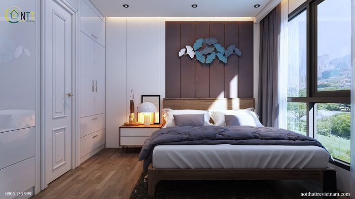 Thiết kế phòng ngủ 10m2