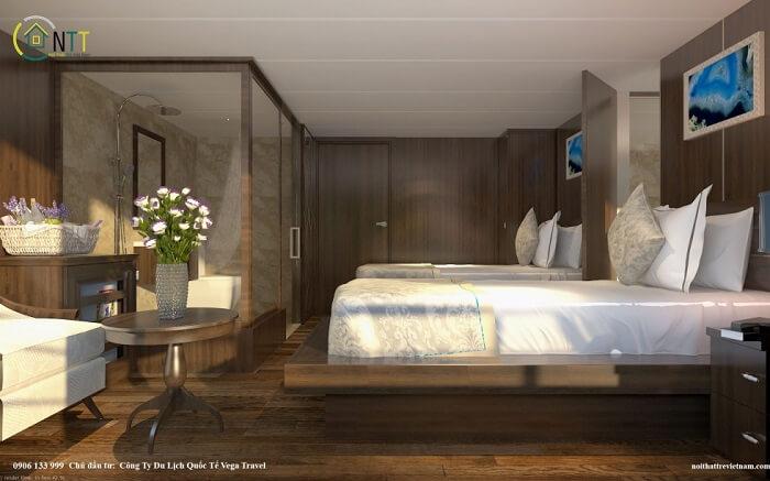 Thiết kế phòng khách sạn mini
