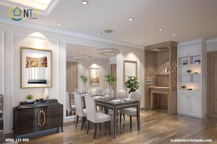 thiết kế bàn thờ nhà chung cư