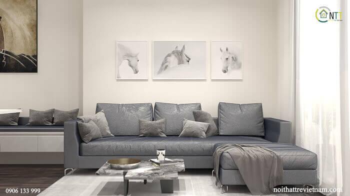 Ghế sofa kiểu hiện đại