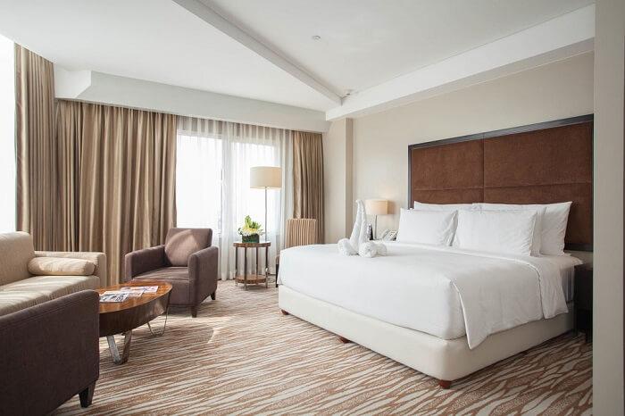 Mẫu thiết kế phòng ngủ khách sạn