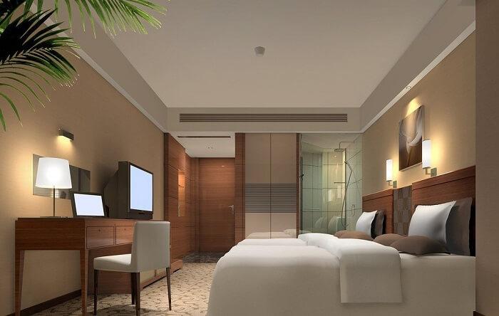 Mẫu phòng ngủ khách sạn 5 sao