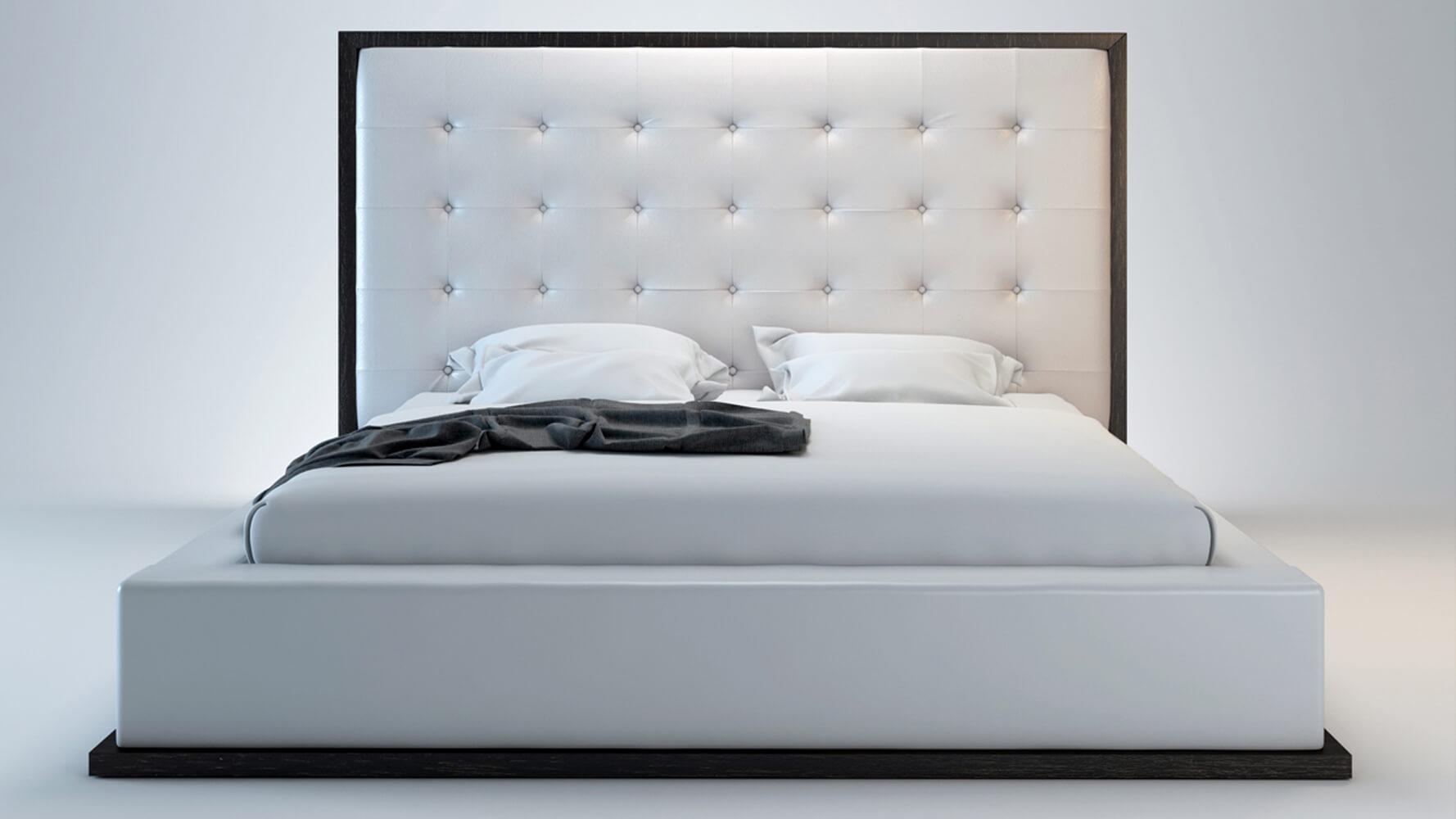 Giường bọc da cao cấp