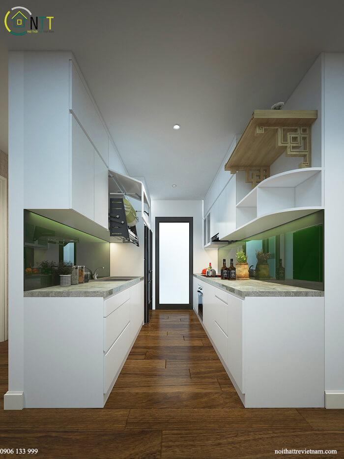 tủ bếp bằng nhựa cao cấp