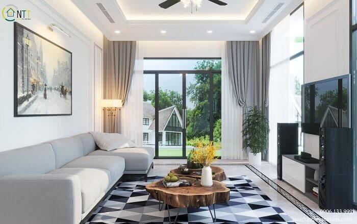 Ánh sáng rất cần thiết nếu bạn muốn sở hữu một phòng khách đẹp