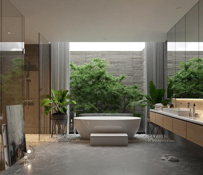 54 mẫu thiết kế nội thất phòng tắm đẹp sang trọng