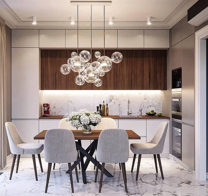 Hình ảnh thiết kế nhà bếp hiện đại