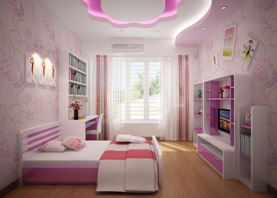 Sắp xếp bố trí không gian khi thiết kế nội thất cho trẻ em