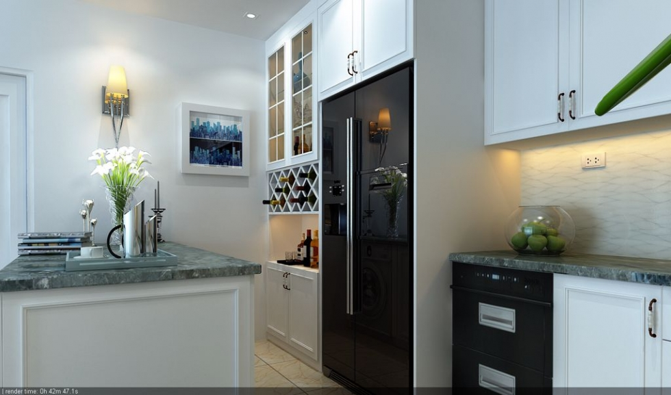 Thiết kế nội thất chung cư cao cấp tránh phá vỡ cấu trúc thô của tòa nhà