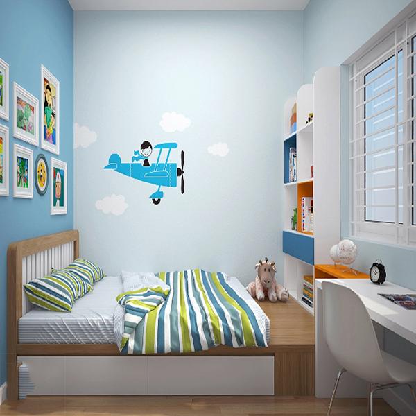 Thiết kế nội thất trẻ em đẹp cho bé trai