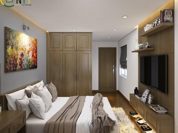 Nội thất phòng ngủ căn chung cư nhỏ số 2
