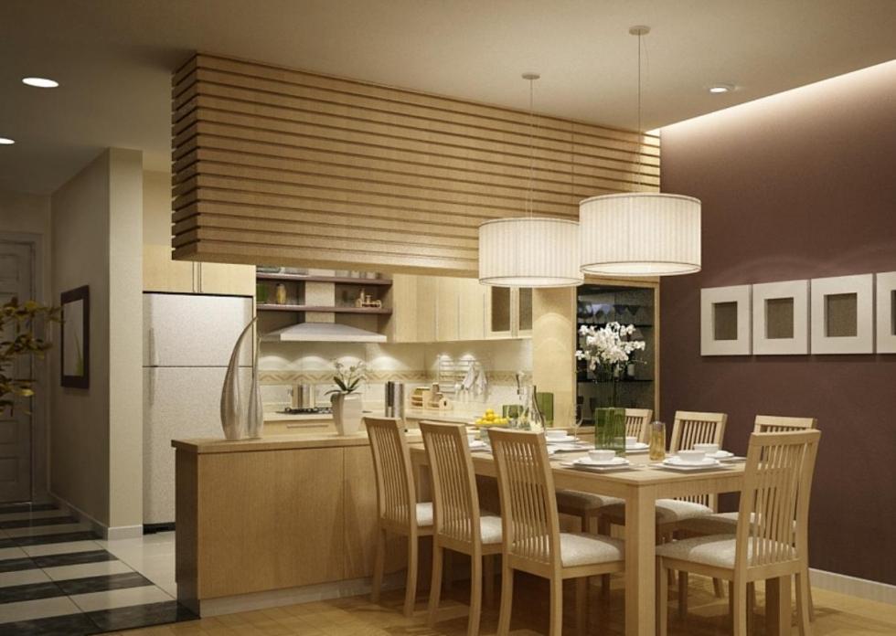 Nhà bếp gỗ cho không gian nấu ăn sang trọng hơn
