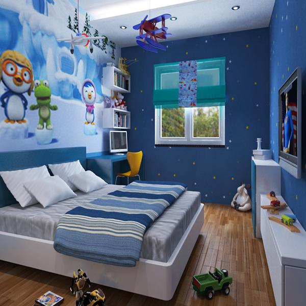 Thiết kế nội thất cho bé trai