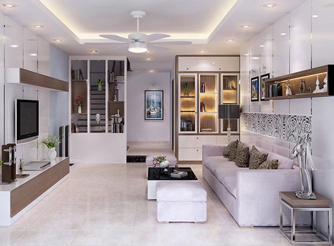 Các mẫu thiết kế nội thất đẹp nhất 2017 cho nhà phố