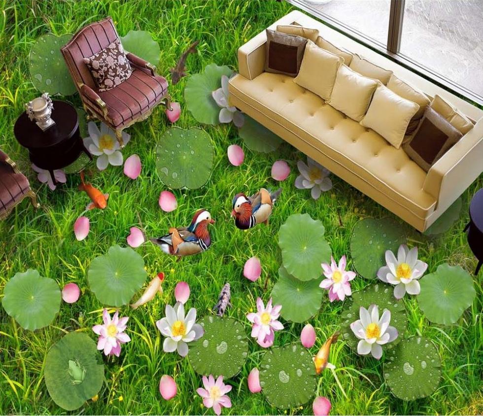 Hoa cỏ thiên nhiên tươi mát