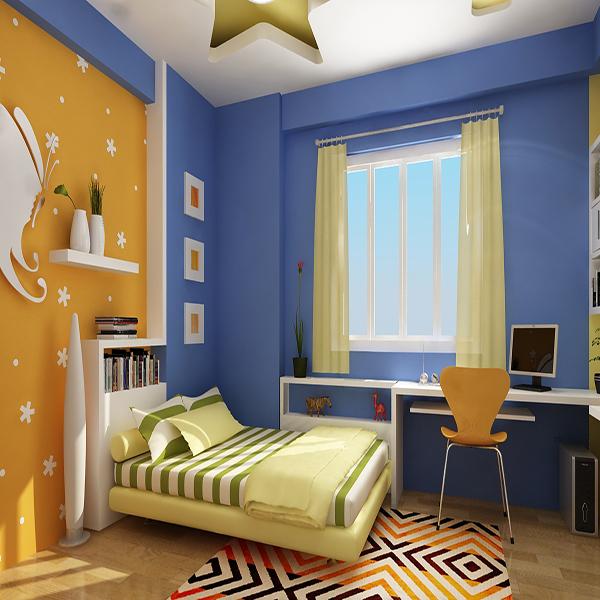 Thiết kế nội thất phòng ngủ trẻ em đẹp
