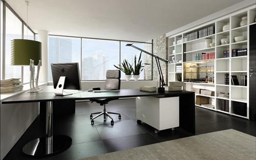 một văn phòng đẹp