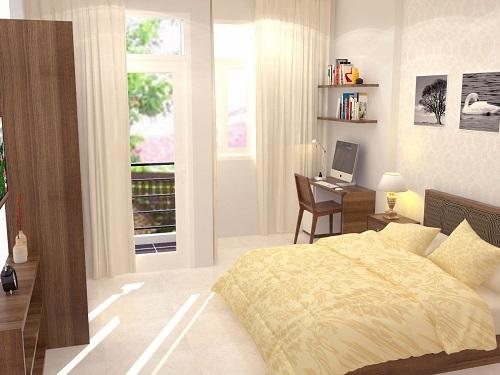 Thiết kế nội thất phòng ngủ nhà 350 triệu