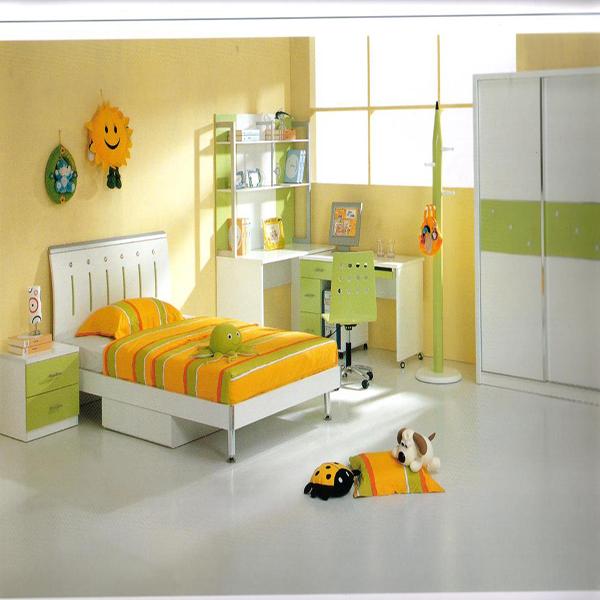 Phòng ngủ cho trẻ với tông màu sáng, ấm