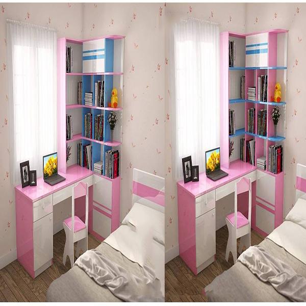 Phòng ngủ cho bé gái yêu màu hồng