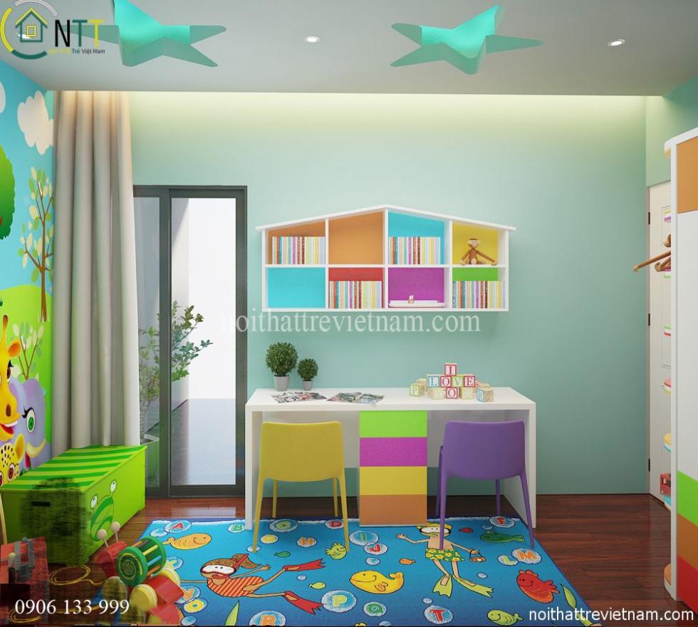 Màu sắc phù hợp với lứa tuổi của trẻ