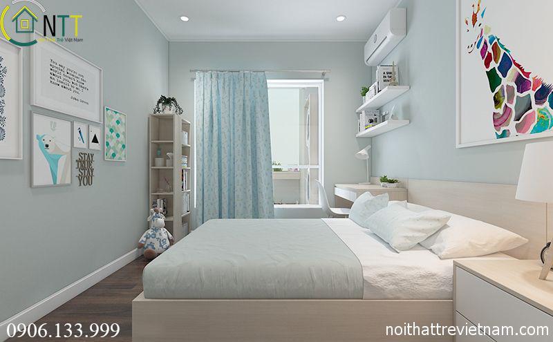  Phòng ngủ thứ 2 nhà anh Tiến Tùng
