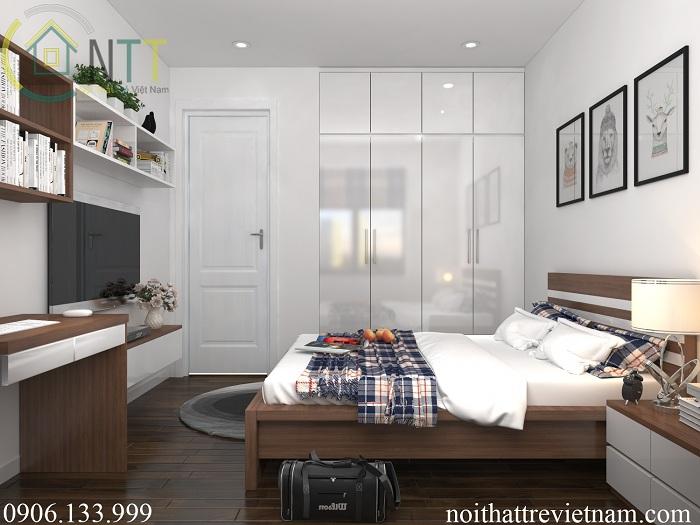 Phòng ngủ bé trai nhà chị Thủy Tiên