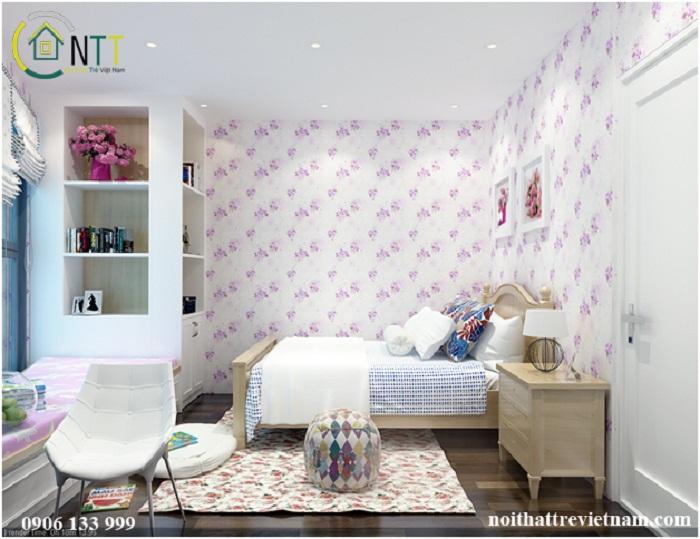 Phòng ngủ mang phong cách thiết kế nội thất hiện đại