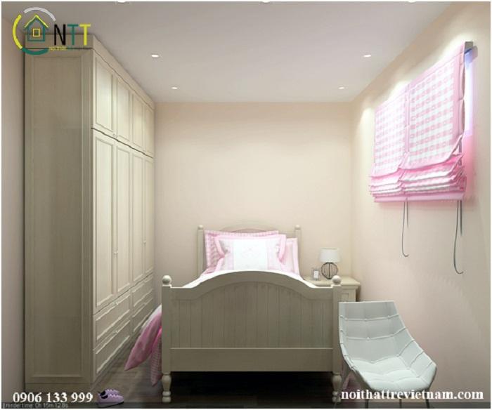 Đồ nội thất sử dụng chủ yếu là gỗ sồi tự nhiên