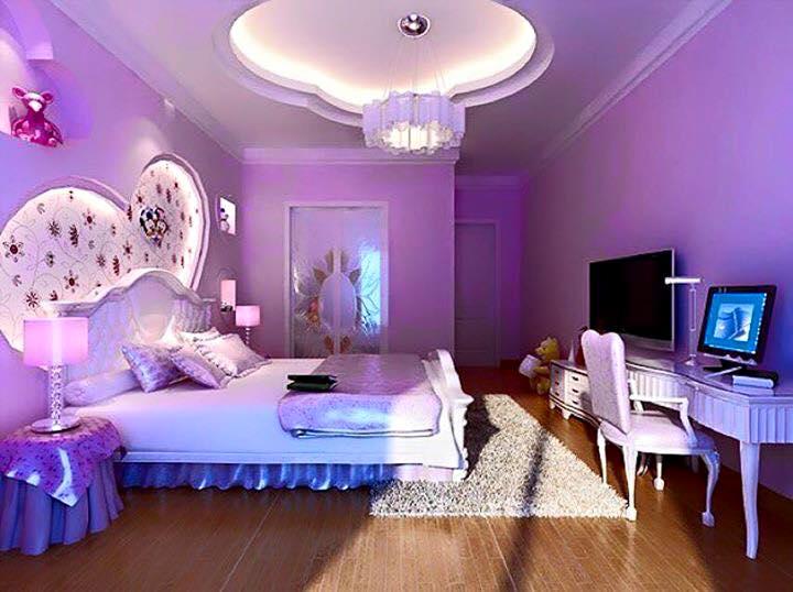 Phòng ngủ sẽ là nơi hâm nóng tình cảm hiệu quả nhất