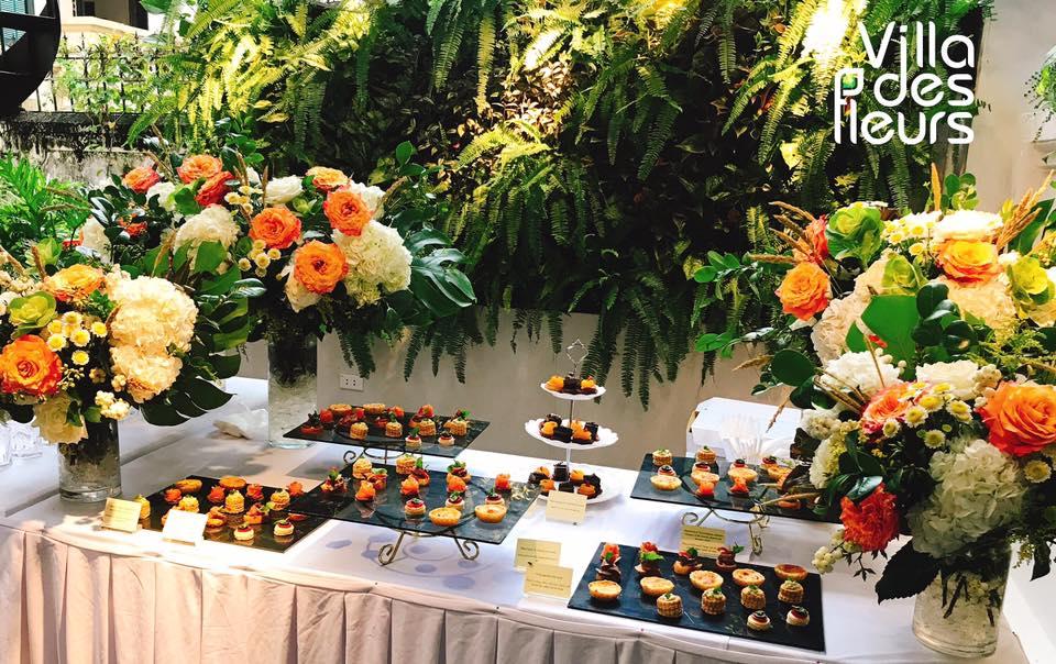 cupcake tại villa des fleurs
