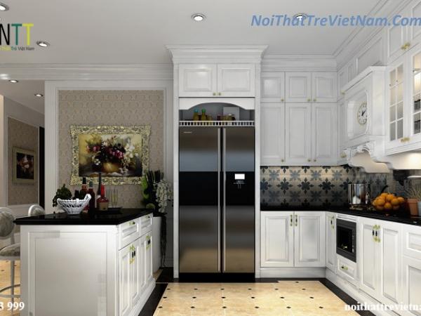 Không gian phòng bếp