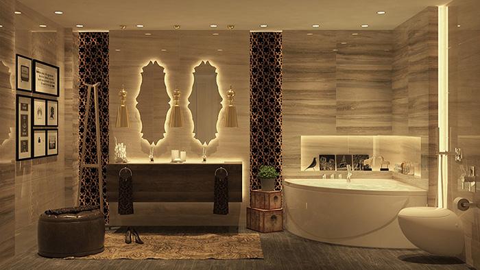 thiet-ke-can-ho-chung-cu-cao-cap-phong-tam 5 yếu tố không thể bỏ qua khi thiết kế nội thất căn hộ chung cư cao cấp