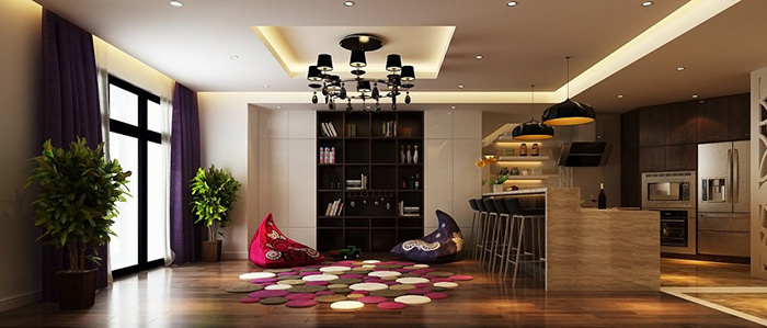 thiet-ke-can-ho-chung-cu-cao-cap 5 yếu tố không thể bỏ qua khi thiết kế nội thất căn hộ chung cư cao cấp
