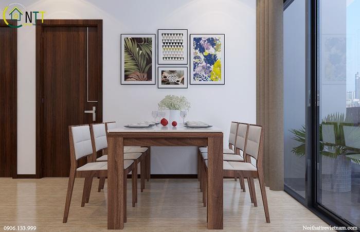 Bộ bàn ghế ăn hiện đại