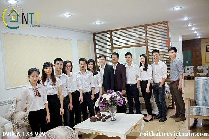Đội ngũ nhân viên giàu kinh nghiệm của Nội Thất Trẻ Việt Nam