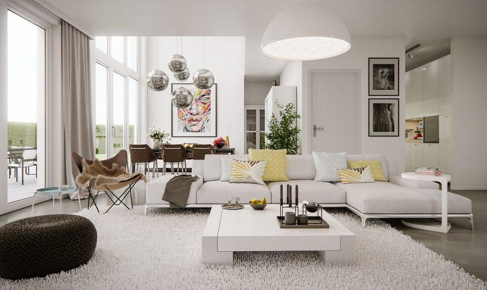 phong cách thiết kế nội thất nhà ở hiện đại