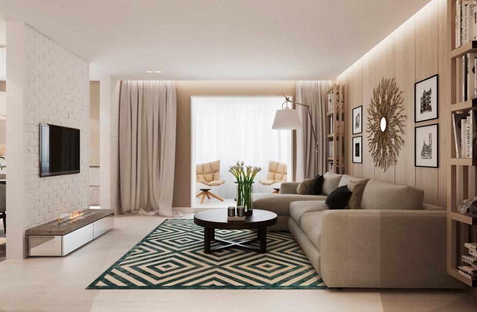 các phong cách nội thất tiêu biểu cho nhà ở hiện đại