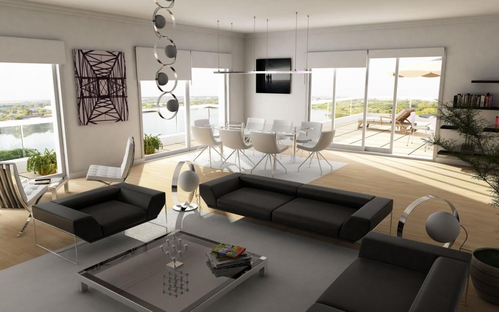phong cách thiết kế nội thất hiện đại 2