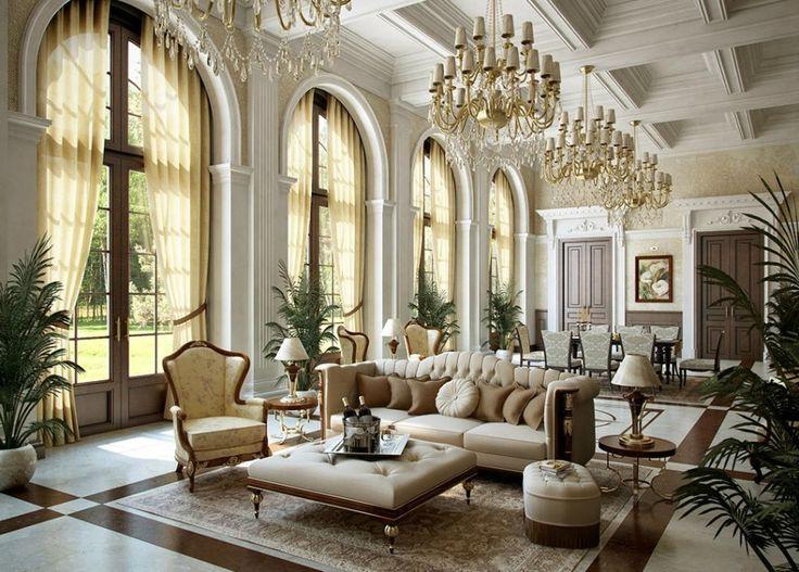 phong cách thiết kế nội thất cổ điển cho nhà ở 2