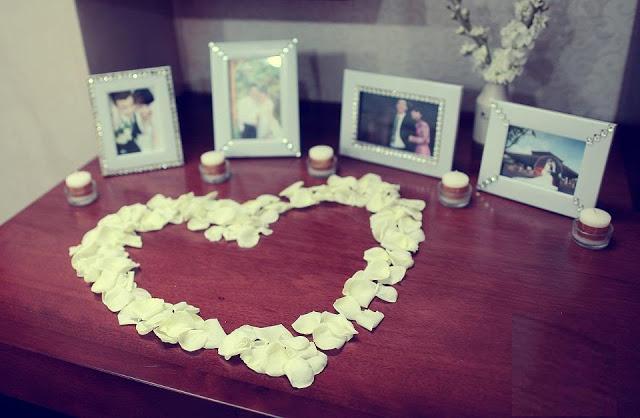 trang trí phòng cưới bằng hoa hồng 1