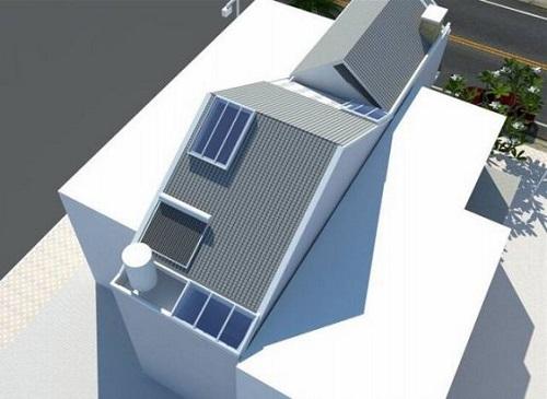 Hình ảnh chụp mái mẫu nhà 2 tầng mái thái